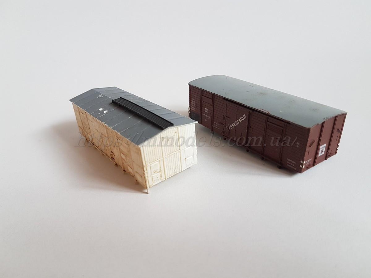 Piko запасна частина модель 2 кузова критого вагона для творчих робіт, масштабу H0, 1:87