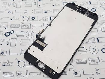 Уценка. Дисплей Apple iPhone 7 модуль черный с разборки