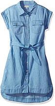 Платье джинсовое Calvin Klein для девочки размер 4 5 6 оригинал Келвин Кляйн США 112-117