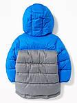 Детская куртка Old Navy синяя с серым размер 18-24М 2Т 84-91, фото 2