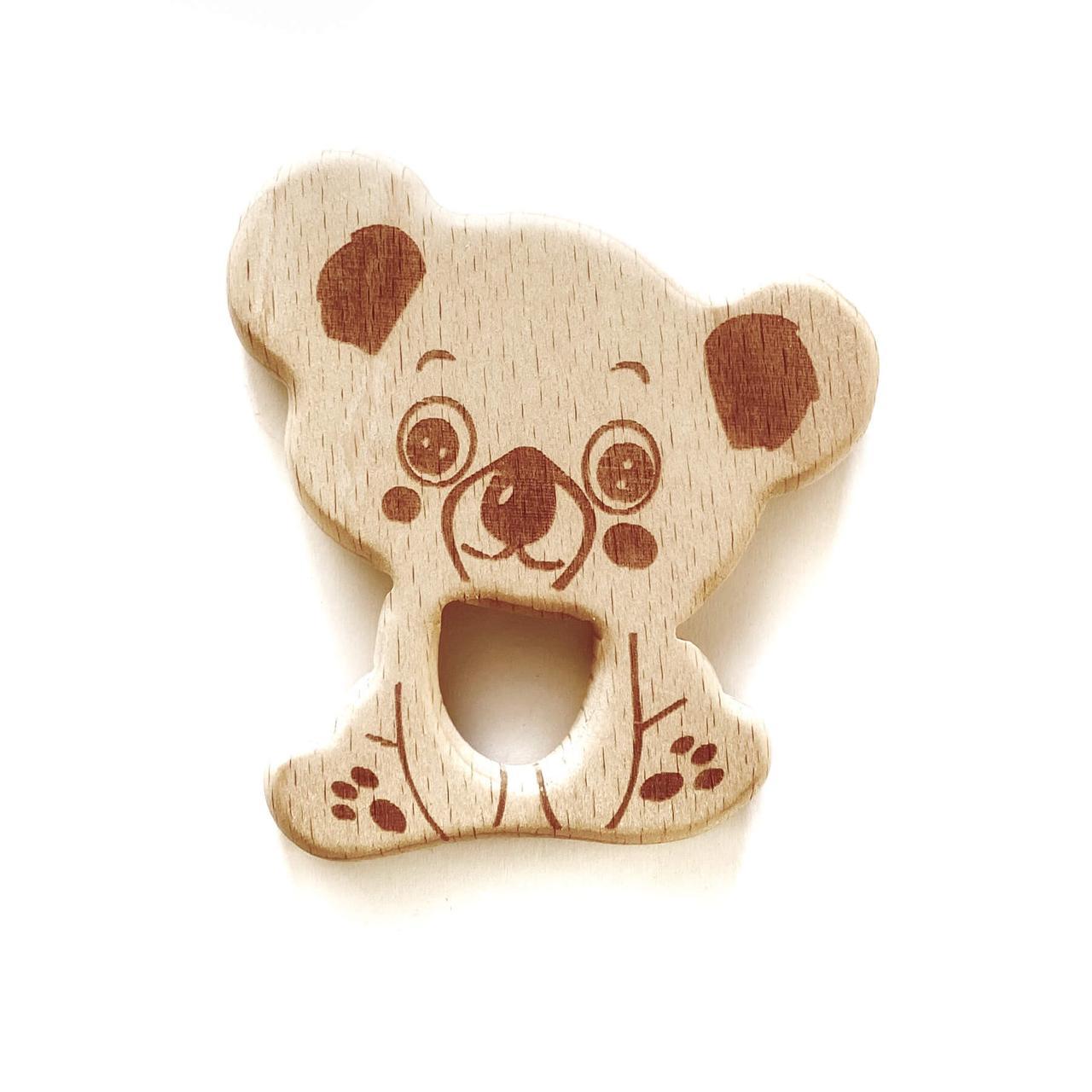 Бук грызунок Коала(деревянные), прорезыватель для зубов
