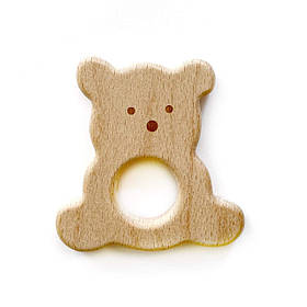 Бук грызунок Мишка (деревянные), прорезыватель для зубов