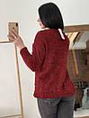 Стильный свитер с бубонами, фото 2