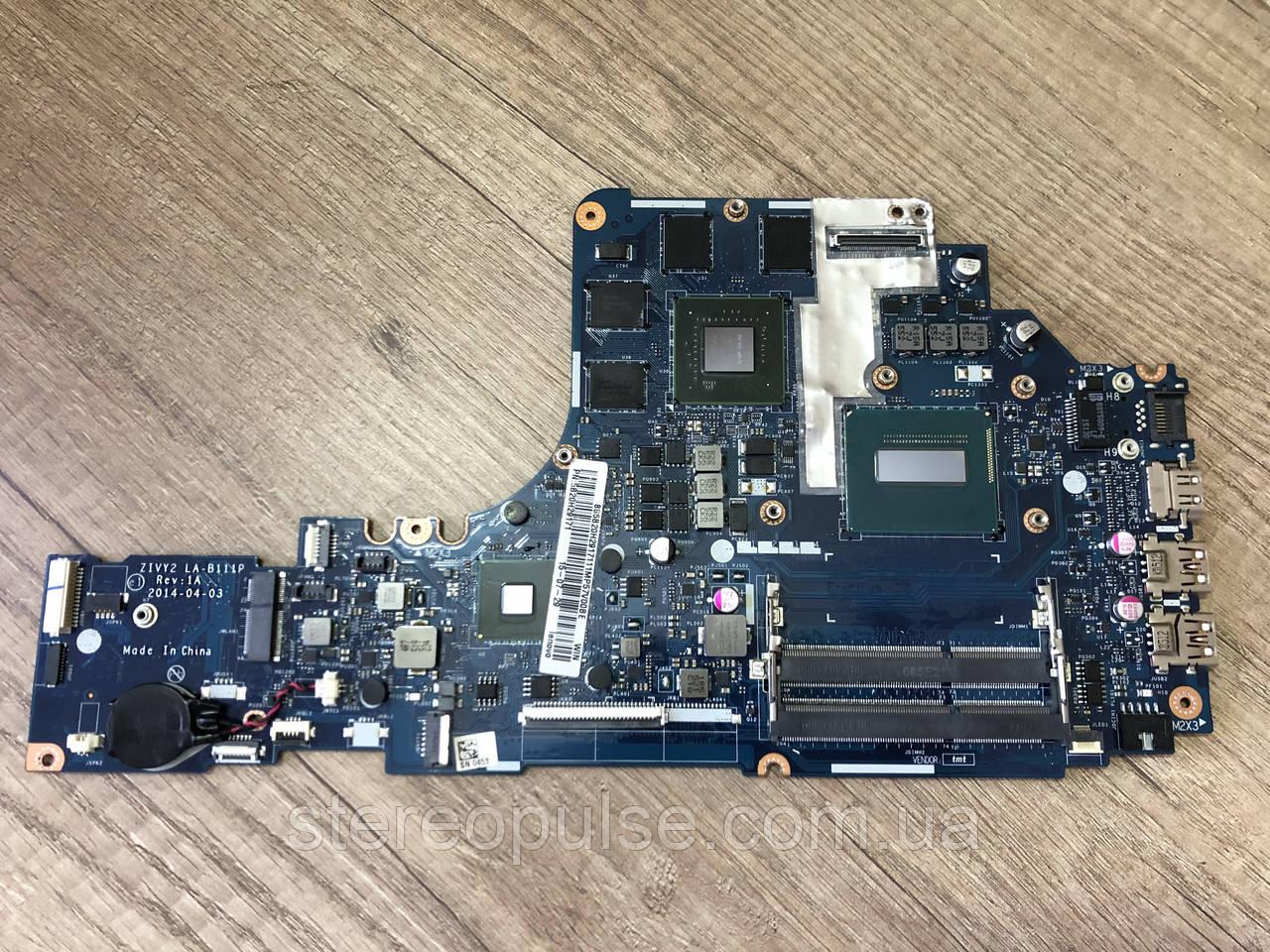 Материнская плата ZIVY2 LA-B111P (Rev: 1A) для ноутбука Lenovo Y70-70