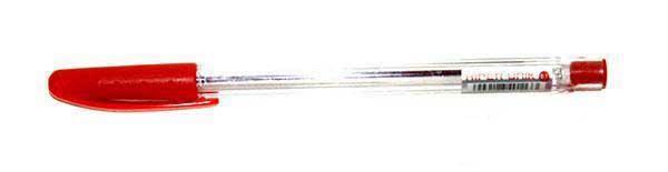 Ручка масляная Hiper Unik, 0.7мм, 50шт/упак., красная, HO-530черв, фото 2