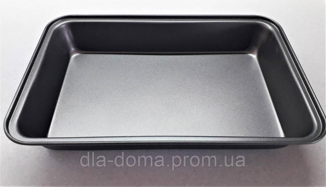 Противень металлический прямоугольный с антипригарным покрытием А-плюс