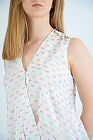 Блузка женская летняя на запах спинка удлиненная MIARTE  10426, фото 1