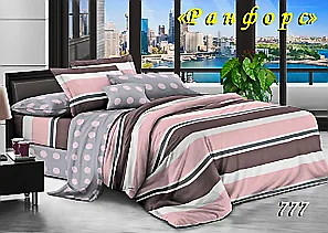 Комплект постельного белья Тет-А-Тет (Украина) полуторный  ранфорс (777)