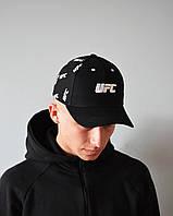 Мужская Кепка черная UFC | Отличный выбор, фото 1