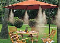 Комплект системы на 10 фосунок Туман Форсунка  Увлажнение охлаждение для спорта, отдых  ландшафта и шоу