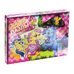 """Пазли Danko Toys """"Казки"""", MAXI, 30 елементів, серія 5, 6 вигляд, MX30-05-06"""