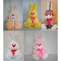 М'яка іграшка «Заєць Вухань» 6 кольорів., фото 1