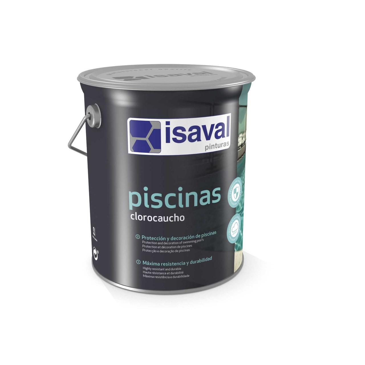 Краска для бассейнов и резервуаров хлоркаучуковая белая 4л - до 32м2