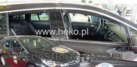 Дефлектори вікон (вітровики) Opel Astra K Sport Tourer 2015-> 5D Combi 5D 4шт (Heko)