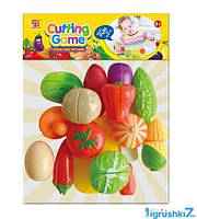 Набор овощей на липучках 2211 (80) в кульке
