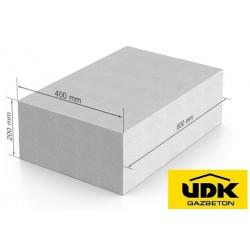 Газоблок UDK 600x200x400мм