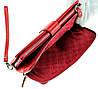 Женский кошелек клатч кожаный красный BUTUN 022-004-006, фото 7