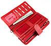 Женский кошелек клатч кожаный красный BUTUN 022-004-006, фото 5