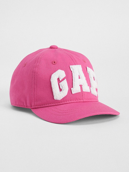 Кепка GAP оригинал детская розовая 48 50 52 бейсболка 2 3 4 5 лет для девочки 50-52