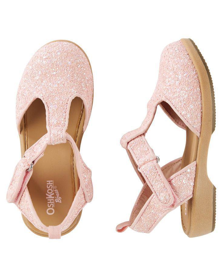 Сандалии босоножки для девочки Oshkosh розовые EUR 27 стелька 17 см