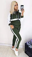 Спортивный женский костюм трикотаж кукуруза