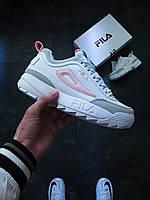 Кроссовки женские FilFila Disruptor 2 белые