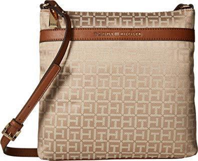 Бежевая сумка Tommy Hilfiger Томми Хилфигер оригинал США кроссбоди