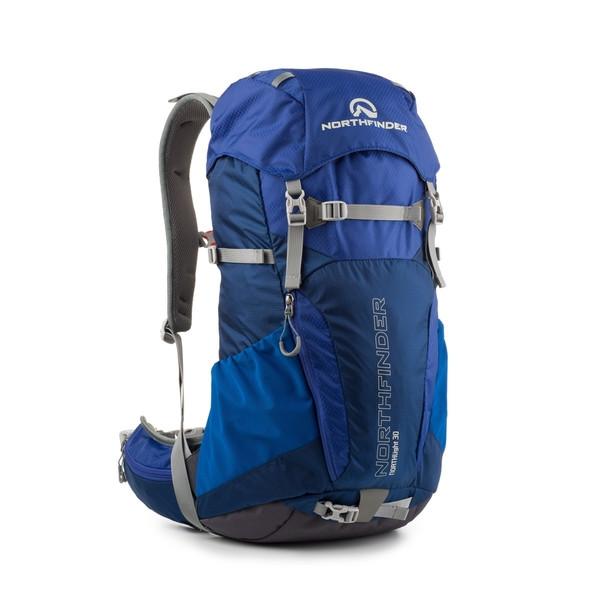 Рюкзак туристичний Northfinder MOBUS 30 L blue (США)