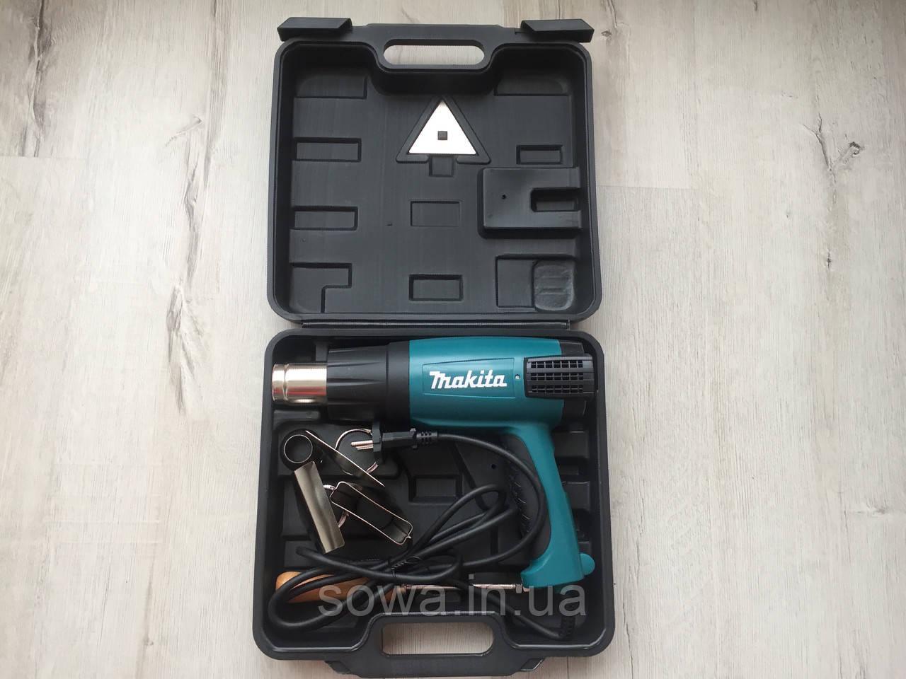 ✔️ Технический фен Makita HG6005  | 2000W | 400 - 600ºC