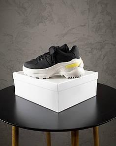 Женские Кроссовки MS Sneakers Black White 1000-1