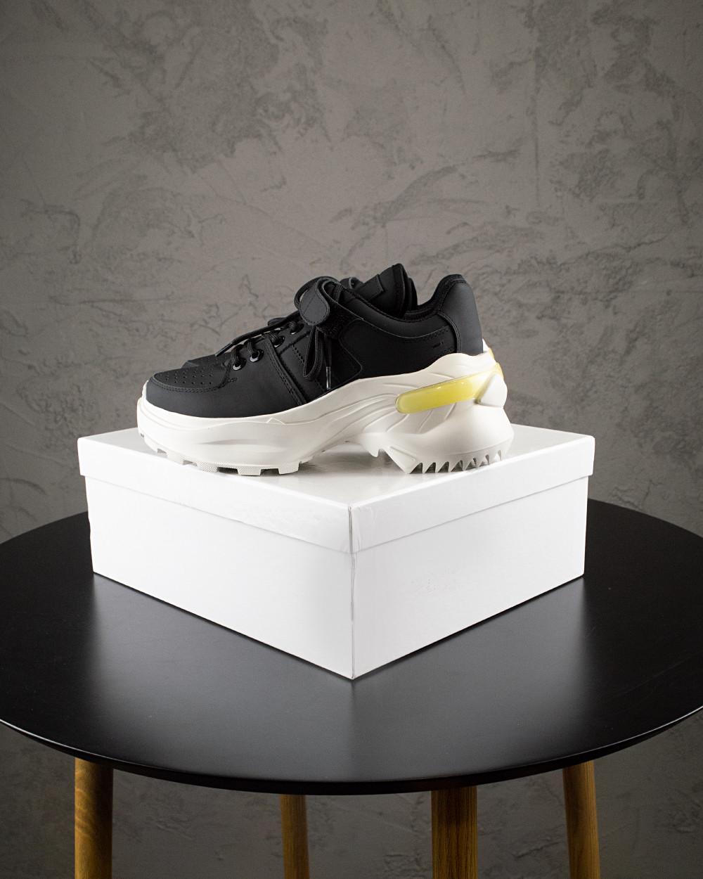 Жіночі Кросівки MS Sneakers Black White 1000-1