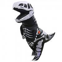 Надувной костюм Скелет Динозавра