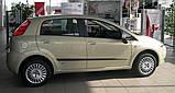 Молдинги на двері для Fiat Gande Punto 5Dr 2005-2009, Punto Evo 5Dr 2009-2012, фото 3