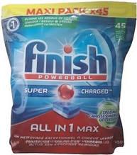 Таблетки для посудомоечных машин Finish all in 1 MAX 45 шт