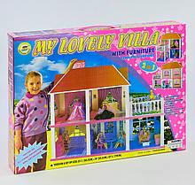 Домик для кукол 2 этажа с верандой 6980