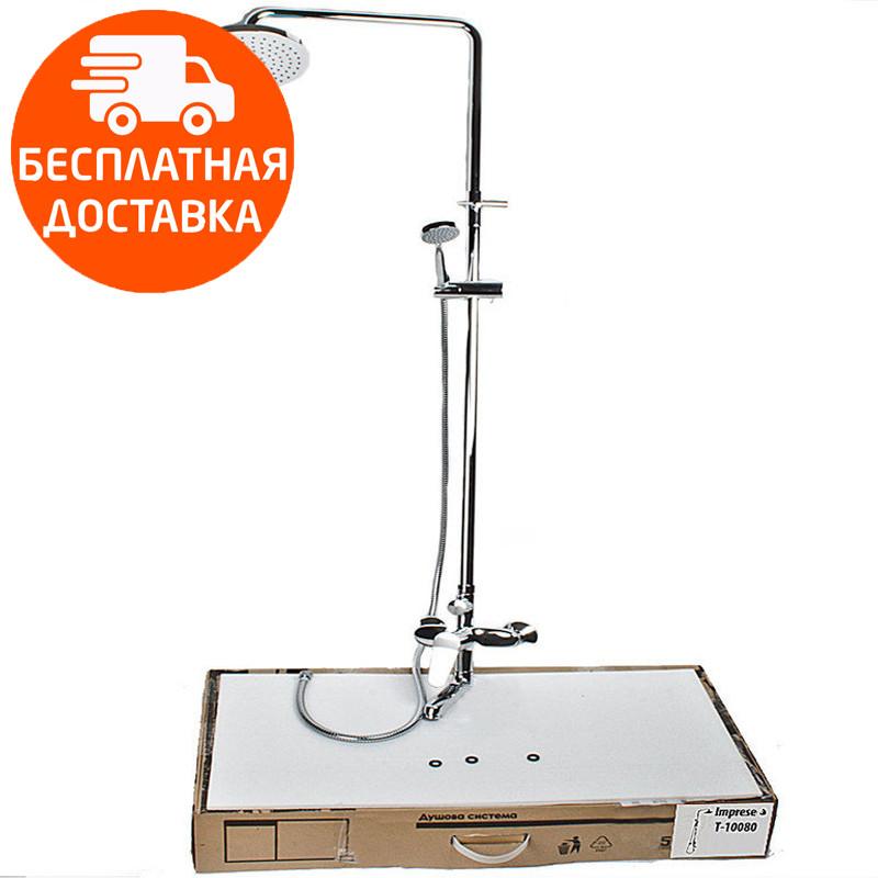 Душевая система для ванны с изливом Imprese Witow T-10080 хром