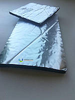 Каучуковая изоляция в рулонах, толщина 6мм, KAIFLEX, с алюминиевой фольгой., фото 1