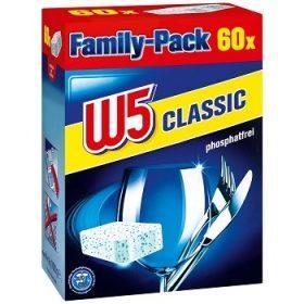 Таблетки для посудомоечных машин W5  Classic 60 шт