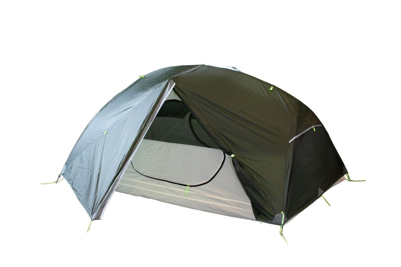 Легкая палатка Tramp Cloud 2 Si TRT-092-GREEN темно зеленая