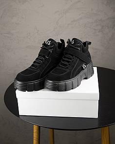 Женские Кроссовки MS Spring Sneakers Black
