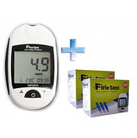 Глюкометр Fine Test (Файн Тест) + 100 тест-полосок
