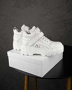 Женские Кроссовки MS Spring Sneakers Full White