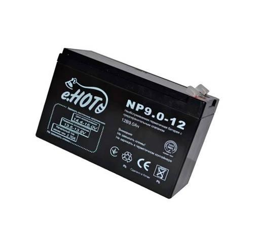 Аккумуляторная батарея детского электромобиля Enot 12V 9Ah NP9.0-12, фото 2