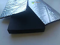 Каучуковая изоляция в рулонах, толщина 13мм, KAIFLEX, с алюминиевой фольгой., фото 1