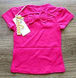 Детская красивая футболочка СЕРДЕЧКО размеры 1-2 и 2-3, фото 5