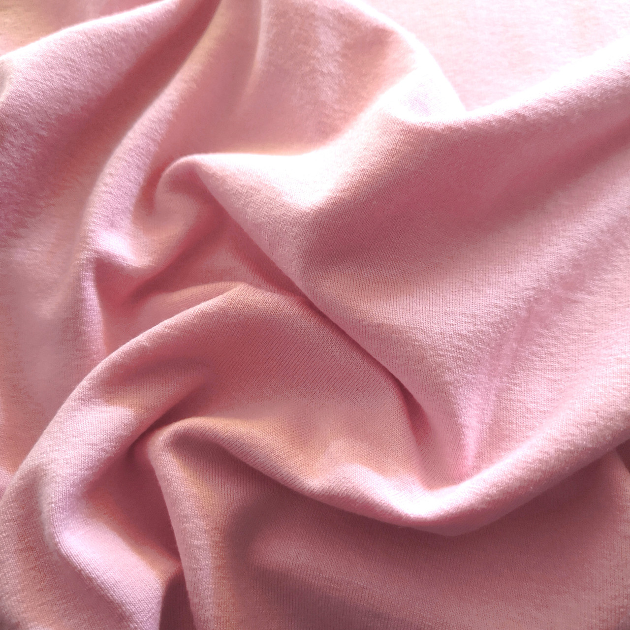 Трикотаж вискоза розовый (180см)