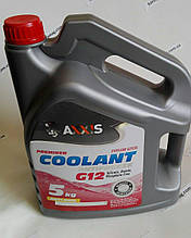 Антифриз RED G12 Сoolant <AXXIS> (красный) (Канистра 5кг)