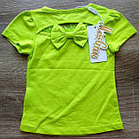 Детская красивая футболочка СЕРДЕЧКО размеры 1-2 и 2-3, фото 3