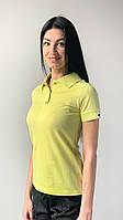 Медичне поло жіноча жовтий, фото 1
