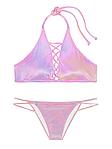 Хит Вельветовый купальник Victorias Secret розовый XS S M L Виктория Сикрет ПИНК XS, фото 2